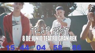 Entradas Festival Trap Gran Rex 8/6 Viernes