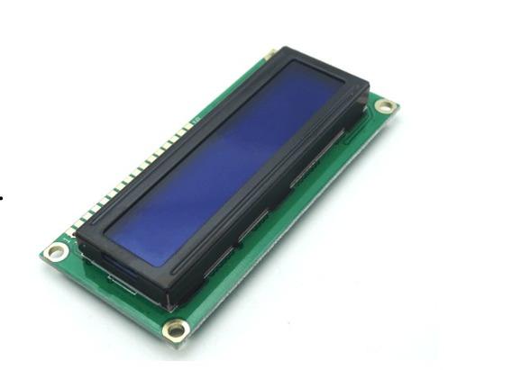 2 Display Lcd 16x2 1602 Com Fundo Azul E Blacklight