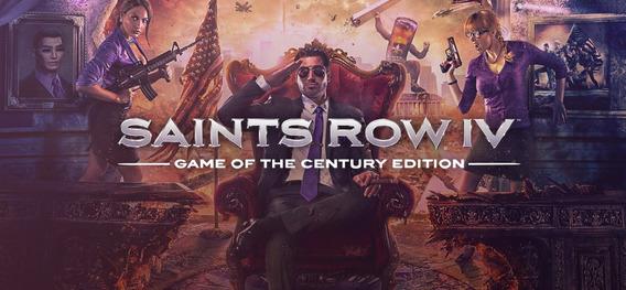 Saints Row 4 Game Of The Century Pc Steam Cd Key Original