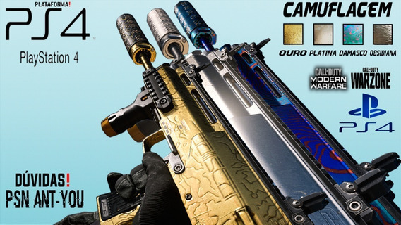 Camuflagem Damasco (damascus) Cod Mw 2019 Ps4