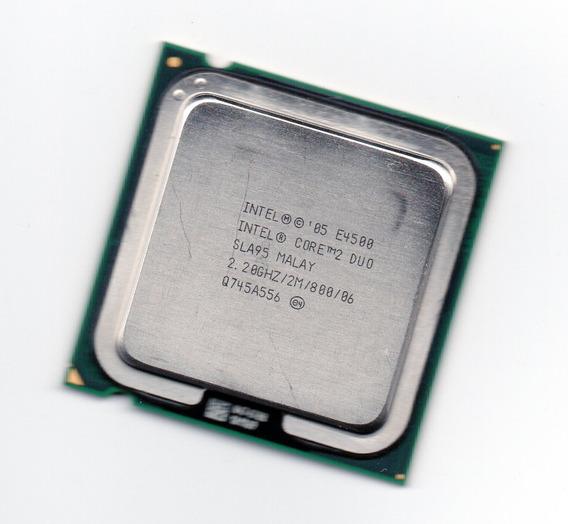Processador Intel Core 2 Duo E4500 2.20ghz Fsb 800 Lga 775