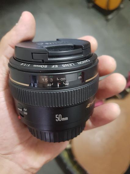 Lente Canon 50mm 1.4 Ef 50mm F/1.4 Usm
