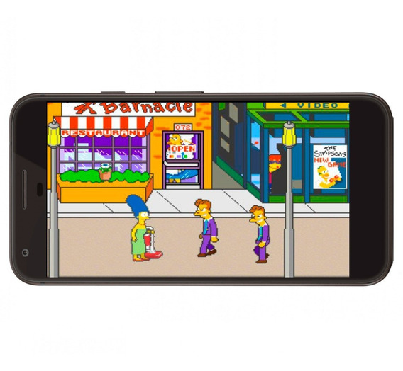 Neo Geo Juego The Simpson + Regalo Para Android