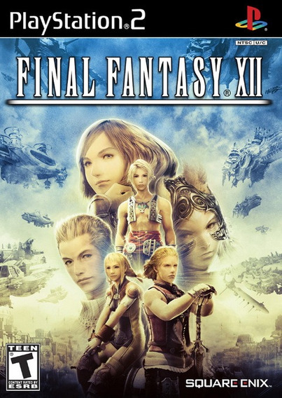 Final Fantasy Xii Ps2 Americano Completo Original Ótimo