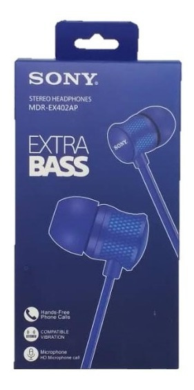 Audifono Manos Libre Sony Extra Bass Nuevos C749