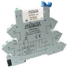 Interface A Rele (borne Rele) 24v Metaltex Prz-1r-24 1 Peça