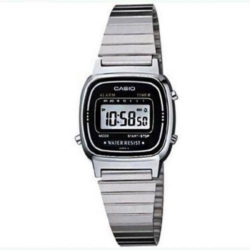 Relógio Feminino Casio Digital Fashion La670wa-1df