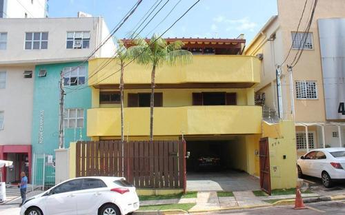 Casa Com 10 Dormitórios À Venda, 550 M² Por R$ 3.850.000,00 - Nova Campinas - Campinas/sp - Ca0423