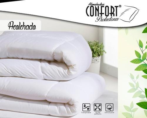 Protector Confort Colchon Acolchado 0.90x1.90 X35/40