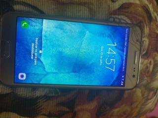 Celular J5 Tela Um Pouco Quebrada (celular Funcionando)