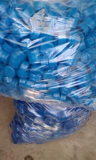 Tapas Desechables Para Botellon De Agua 100 Tapas