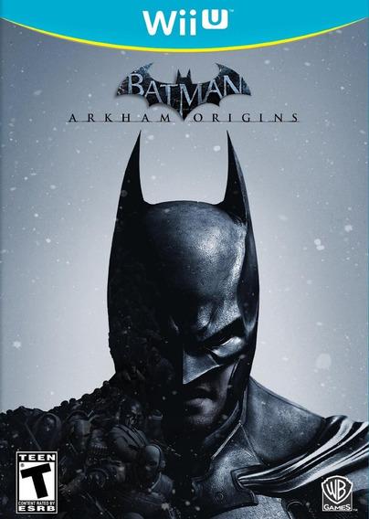 Wiiu - Batman Arkham Origins - Midia Fisica - Novo