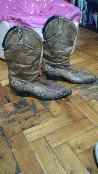 Botas Piel De Serpiente Texanas