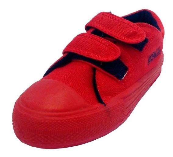 Zapatillas Infantil Abrojo Marca Small Modelo Duncan (0839)