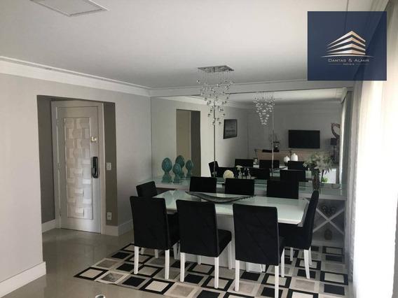 Apartamento No Condomínio Solon Fernandes, 137m², 3 Dormitórios, 1 Suíte, 2 Vagas, Aceita Permuta. - Ap0773