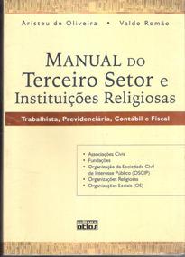 Manual Do Setor E Instituições Religiosas Aristeu De Oliveir