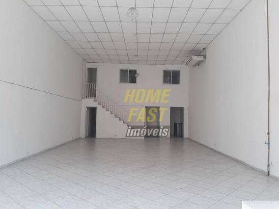 Galpão Para Alugar, 380 M² Por R$ 6.600/mês - Vila Galvão - Guarulhos/sp - Ga0257