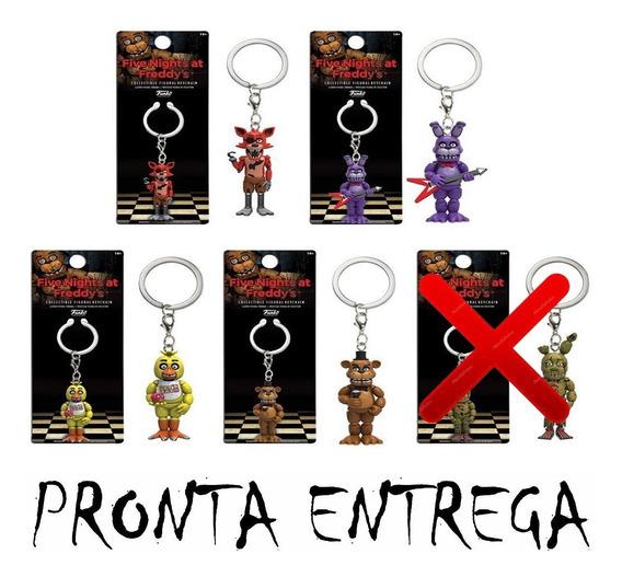 Chaveiros Pop Funko Keychain Five Nights At Freddy