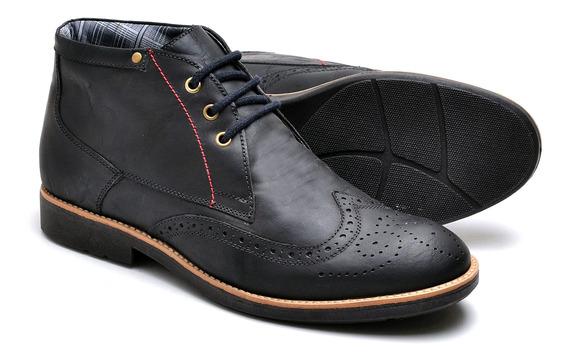 Sapato Oxford Casual Masculino De Amarrar Em Couro 31