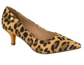 Sapato Feminino Onca Scarpin Vizzano Salto Baixo 1122.628