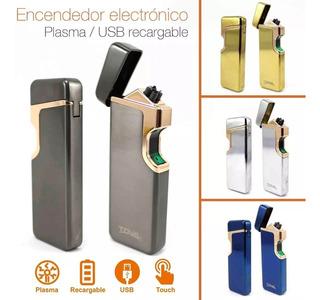 Encendedor Eléctrico Electrónico Plasma Recargable Sensor