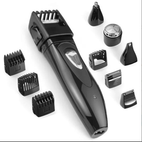 Barbeador Aparador Barba E Pelos 9em1 Com Bolsa Eb021