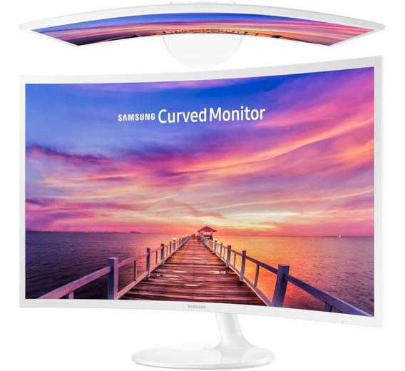 Monitor Curvo Samsung 32 PuLG F391 Hdmi Display Port 1080 P