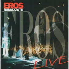 Cd Eros Ramazzotti - Live - Frete Gratis -original