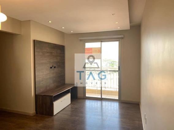 Apartamento Com 3 Dormitórios À Venda, 65 M² Por R$ 400.000 - Bonfim - Campinas/sp - Ap0288