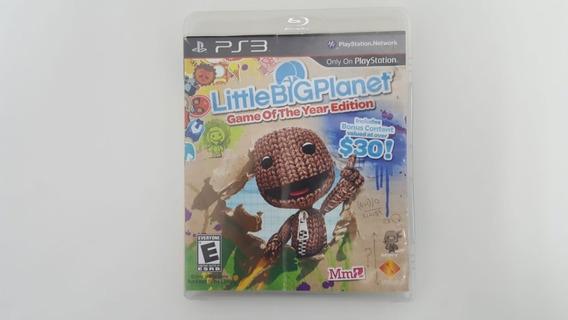 Jogo Little Big Planet Goty - Ps3 - Original