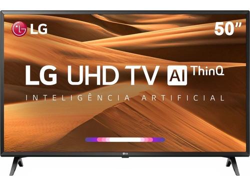 Smart Tv Led 50'' LG 50um Ultra Hd 4k Conversor Digital