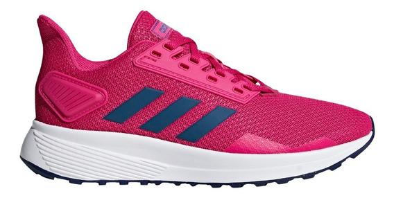 Zapatillas adidas Duramo 9 K Running Fuc/azu De Niñas