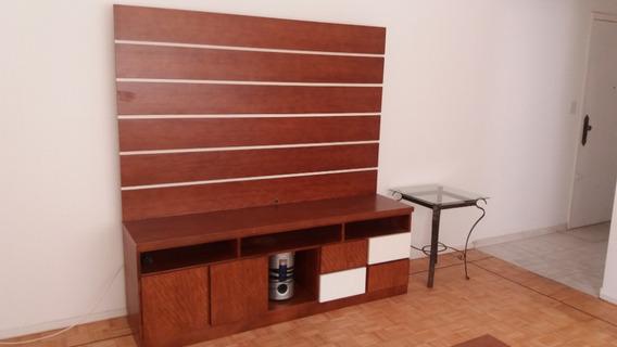 Apart 02 Dormitorios, Semi Mobiliado, Bem Localizado.