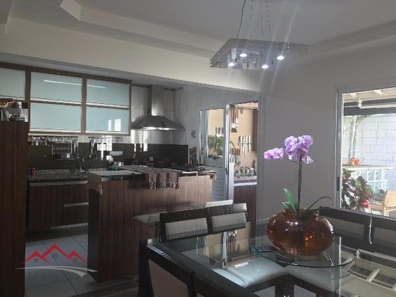 Linda Casa A Venda No Condomínio Fechado Nature Village 1 - Eloy Chaves - Jundiaí/sp. At: 218m² - Ca00085 - 4860755