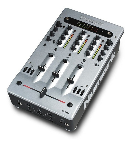 Mixer Para Dj Numark Matrix3 - In 3 Phonos 6 Line 1 Mic Eq