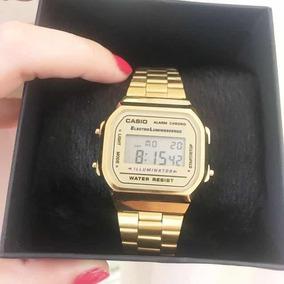 4f3de79e0623 Relogio Casio Vintage La680wa Dourado - Relógios De Pulso no Mercado ...