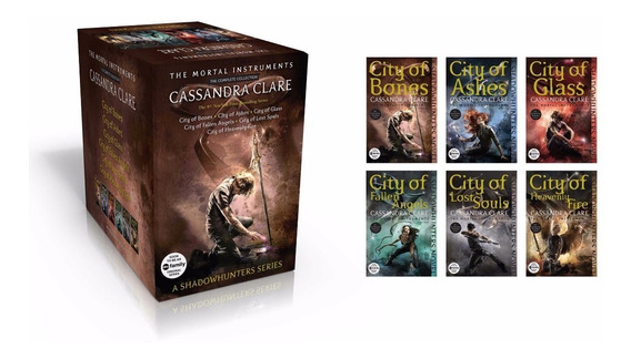 Livro The Mortal Instruments: The Complete Collection Box **