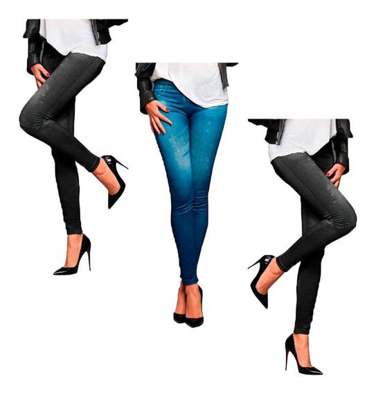 Set 3 Pantalones Slim