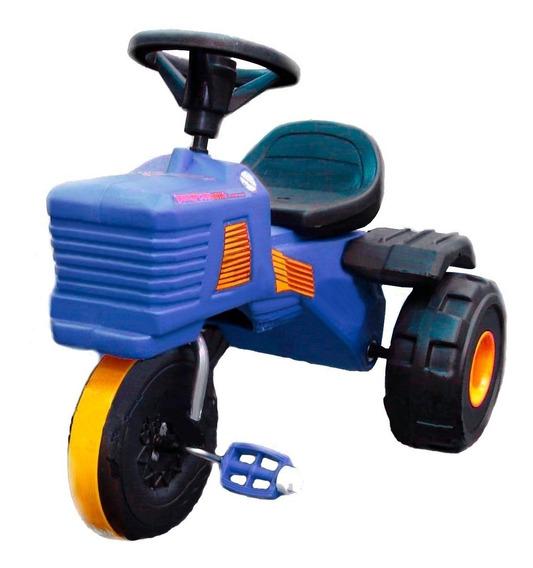 Triciclo Tractor Rodacross Irrompible Planeta Juguete