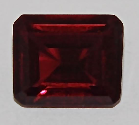 3707 Rubi Sangue De Pombo Octogonal 11,1x9,1mm Com 5,9 Ct