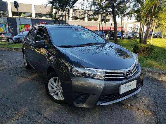 Toyota Corolla 1.8 Gli Upper 2017 Banco De Couro 12 Mil Km