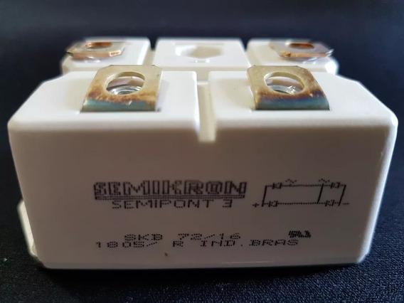 Ponte Retificadora Skb 72/16 Semikron