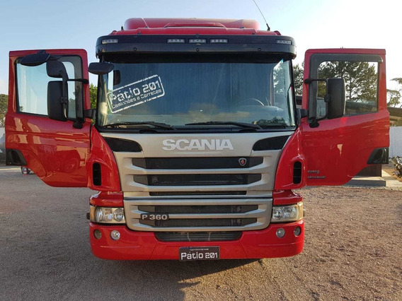 Caminhão Scania P 360 Opticruise 2013 6x2 Trucado