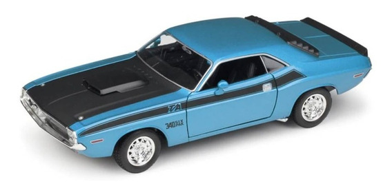 Dodge Challenger T/a 1970 1/24 By Welly