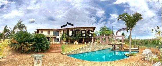 Rancho Com 6 Dormitórios À Venda Por R$ 7.500.000 - Jardim Guanabara - Goiânia/go - Ra0001