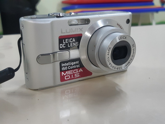 Câmera Digital Panasonic Lumix Dmc Fx10 6.0megapixels