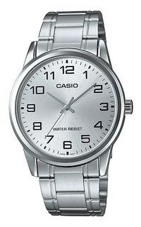 Reloj Casio Hombre Mtp-v001d-7 Metal Wr Clasico Gtia 2 Años