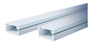 Cable Canal Con Adhesivo 20 X 10 X 2 Metros Blanco Plastico