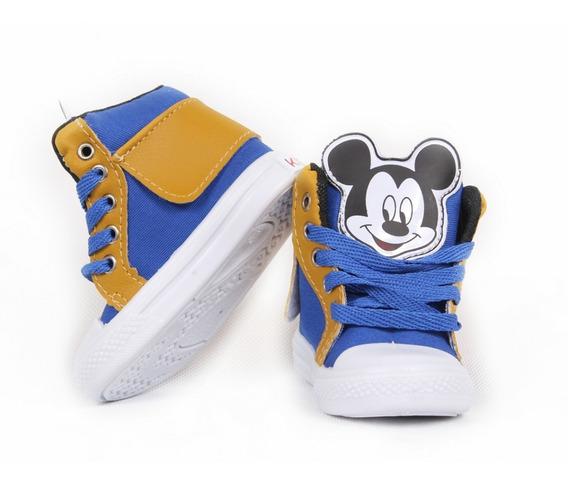 Tênis Botinha Infantil Mickey Promoção