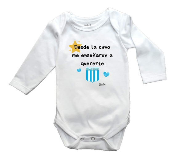 Body Bebé Algodón Personalizado Racing Día Del Padre